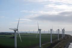 ロラン島の風車群