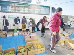 アースデイ東京タワー・物資救援(宮城県)