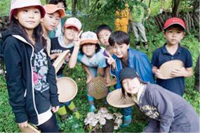 森林塾かずさの森での林業体験(千葉県)