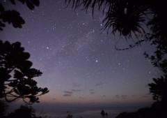 現地ガイドから 宿から15分「静沢」の星空
