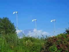 風力発電も