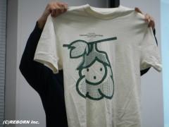 販売予定のTシャツ