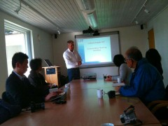 レオクリステンセン市議の再々可能エネルギーセミナー