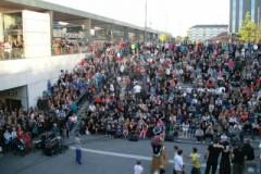 中央駅が舞台になら。ウプサラ文化祭Kulturnatten。