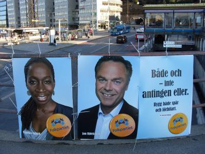 移民が多く、多文化スウェーデンではいろいろな人が政治家になっている